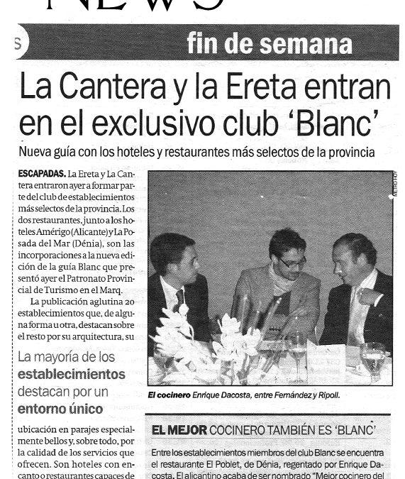 """Exclusivo Club """"Blanc"""""""